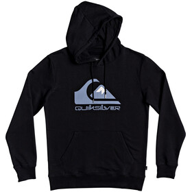 Quiksilver Comp Logo Screen Fleece Hoody Herren black